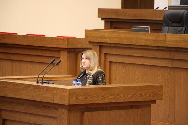 Выступление на третьей сессии Палаты представителей шестого созыва