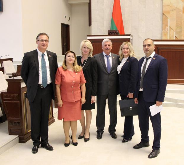 Заседание 58-й сессии Парламентского Собрания Союза Беларуси и России
