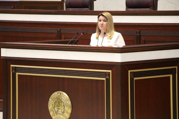 Выступление на шестой сессии Палаты представителей
