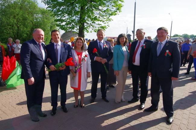 День Победы в Могилеве.