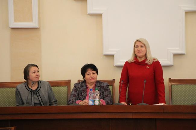 На заседании первичной организации БСЖ Палаты представителей